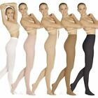 Внешний вид - Eurotard Adult Non-Run Footed Euroskins Microfiber Tights Assorted Colors