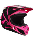 Fox Racing Youth V1 Helmet Race Series Pink/Black 17396-170