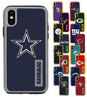 Official NFL Dual Layer ShockProof Hybrid Cover Case for Apple iPhone X $18.99 USD on eBay