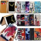 Leather Wallet Stand Magnetic Flip Case Cover For Various Lenovo SmartPhones