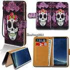 Leather Wallet Stand Magnetic Flip Case Cover For Various Samsung Galaxy J7
