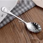 New Kitchen Shell Shape Mixing Spoon with Handle Daily Useful Cooking ONMF 01