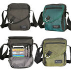 Men Women Crossbody Bag Multiple Pockets Shoulder Bag Small Messenger Bag Tablet