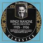The Chronological Wingy Manone 1935-1936 CD Jazz Classics Hard To Find Years
