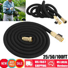 25/50/100FT Expanding Flexible Water Hose Pipe Home Garden Hose Watering Tool US