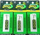 JAKE'S JAKES SPIN A LURE LIL-JAKES LIL-BLACK 3 PACK