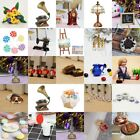 Mutil Style 1:12 Miniature Dollhouse FAIRY GARDEN Toy Ornaments Home Decor Pop