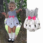 Easter Newborn Baby Girl Bunny Romper Bodysuit Jumpsuit Playsuit Outfits Clothes