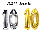 """Giant 3 RD Birthday Party Number 3  Foil Balloon 32"""" INCH Air Decoration Age 3RD"""
