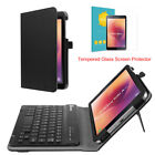 For New Samsung Galaxy Tab A 8.0 Inch 2017 Tablet Wireless Keyboard Case Cover