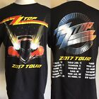 "ZZ TOP (2017) Cancelled ""Tonnage"" Concert Tour Dates T-Shirt Sizes M/L/XL/XXL image"