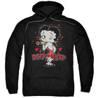 Betty Boop Classic Kiss Pullover Hoodies for Men or Kids $24.74 USD
