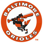 Baltimore Orioles Cornhole  decal set of 2decals, bean bag toss #4