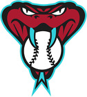 Arizona Diamondbacks Cornhole  decal set of 2decals, bean bag toss #9