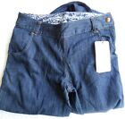 Oakley Side Jeans Womens Sizes 2 4 or 6 Brand New With Tags Blue Dark Wash Denim