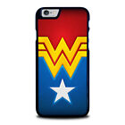 WONDER WOMAN LOGO For iPhone 4 4S 5 5S 5C 6 6S 7 8 Plus X SE Phone Case Cover
