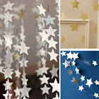 Paper Small Stars Garlands Wedding Birthday Party Banner Hanging Room Decor