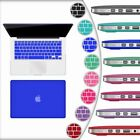 Lot of 10-20 Rubber Coated Hard Case Cover for Macbook Air 13 11 Pro 13 13Retina