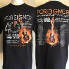 FOREIGNER (2017) 40th Anniversary Concert Tour Date CHEAP TRICK T-Shirt Large XL