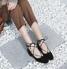 Women Chic Strappy Sweet Sequins Decor Shallow Mary Jane Mouth Shoes Single Shoe