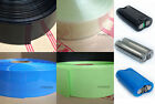 50mm Wide Φ32mm PVC Heat Shrink Tubing Wrap 18650 Battery 1M/5M