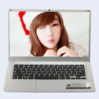 14'' Ultra-thin Quad-Core Laptop HD Display 4+64GB Windows10 Camera 5500 mAh