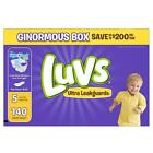 Luvs Ultra Leakguards Diapers BRAND NEW SEALED BOX **FREE SHIPPING** ALL SIZES!