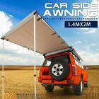 4x4 Car Side Back Sun Rain Shade Roof Awning & Mosquito Fly Net & Wind Shield