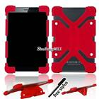 "Soft Silicone Shockproof Stand Cover Case For 7"" 8"" Samsung Galaxy Tab + Stylus"