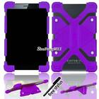 """Soft Silicone Shockproof Stand Cover Case For Various 8"""" AT&T Trek Tablet + Pen"""