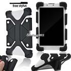 "Soft Silicone Shockproof Stand Cover Case For Various 8"" AT&T Trek Tablet + Pen"