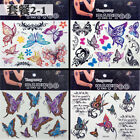 Temporary Butterfly Tattoo Sticker Body Art Removable Waterproof  Stickers USA $1.59 USD on eBay