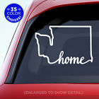Washington State *Home* (on bottom) Decal - WA Home Car Vinyl Sticker add heart