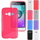 S-Line Slim Soft TPU Silicone Phone Case Cover For Samsung Galaxy J1 2016