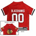 PETS FIRST CHICAGO BLACKHAWKS NHL PET JERSEY (5 SIZES) $21.95 USD on eBay