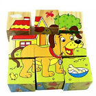 3D Puzzle Kids Educational Wooden Baby Toy Jigsaw Toys Learning Blocks Figures