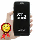(Factory Sealed) Samsung Galaxy S7 Edge Gold Silver Unlocked 4G LTE 12 Months