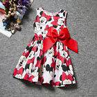 Baby Toddler Girls Minnie Mouse Party Princess Dress Kid Cartoon Skirt Clothes C