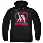 Betty Boop Scrolling Hearts Pullover Hoodies for Men or Kids $26.39 USD