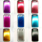Metal Color Hard Phone Case for SAMSUNG Galaxy S3 SIII i9300 Gold Red Pink LOT