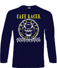 Cafe Racers T-Shirt Long Sleeve Biker 60's Rock & Roll Ace 50s Cafe Racer Rock $27.66 USD on eBay