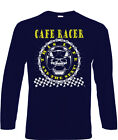 Cafe Racers T-Shirt Long Sleeve Biker 60's Rock & Roll Ace 50s Cafe Racer rock $27.71 USD on eBay