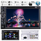 "For Vauxhall 6.2"" Double 2 Din In Dash Car CD DVD Head Unit Player Radio Stereo"