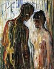 Cupid and Psyche by Edvard Munch. Fine Art Made in U.S.A Prints Paper or Canvas