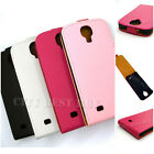PU Leather Vertical Flip Case Cover with Magnetic Lock for Galaxy S4 i9500 LOT
