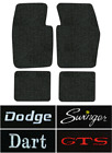 1963-1973 Dodge Dart Floor Mats - 4pc - Loop $185.07 CAD on eBay