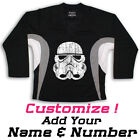 Stormtrooper Star Wars Hockey Practice Jersey Optional Name  Number Black