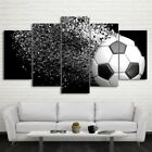 Canvas Print Painting Picture Wall Art Home Decor Football Disintegration Framed