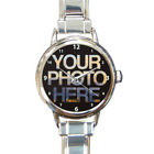 Italian Charm Watch Nomination Style Links Print Personalised Kids Family Photo