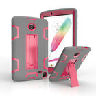For LG G Pad 2 8.0 / F 8.0 Slim Shockproof Hybrid Rubber Stand Hard Case Cover